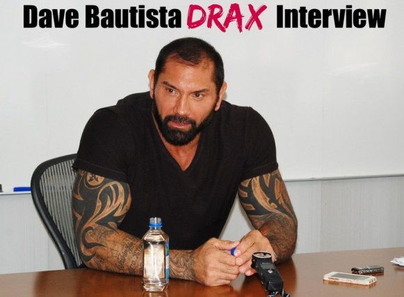 Dave Bautista is Drax - Muscle with Heart in Guardians of the Galaxy #GuardiansoftheGalaxyEvent
