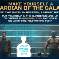 Put Yourself in the Guardians of the Galaxy Line-Up!