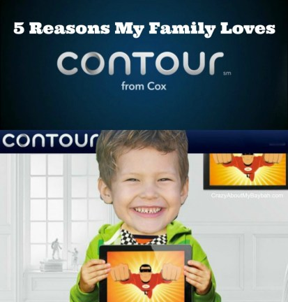 Five Reasons My Family Love Contour from Cox