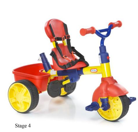 4 in 1 Little Tikes Trike Stage 4