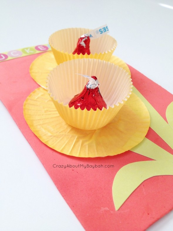 Pucker Up Buttercup Valentines Cards - Valentine Crafts for Kids