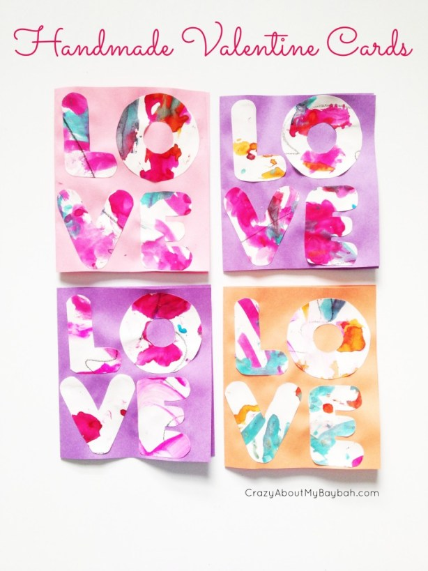 Handmade Valentine Cards - Valentines Day Crafts for Kids
