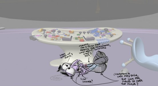 Inside Out  Animation Dailies at Pixar