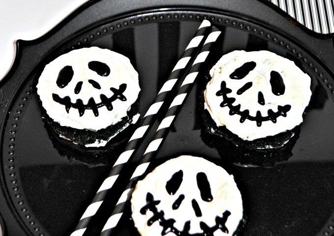 Jack Skellington No Bake Dessert