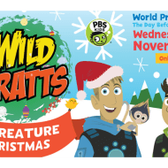 WILD KRATTS Creature Christmas and Nature Cat Premiere
