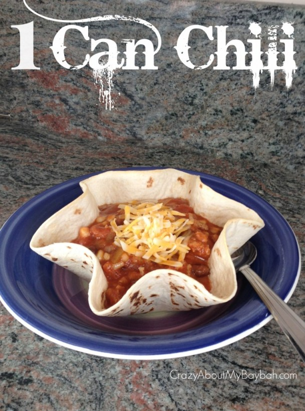 1 Can Chili Recipe