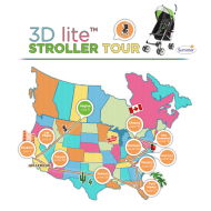 Summer Infant 3D lite Stroller Tour Stops in Vegas | Giveaway #3DliteStrollerTour