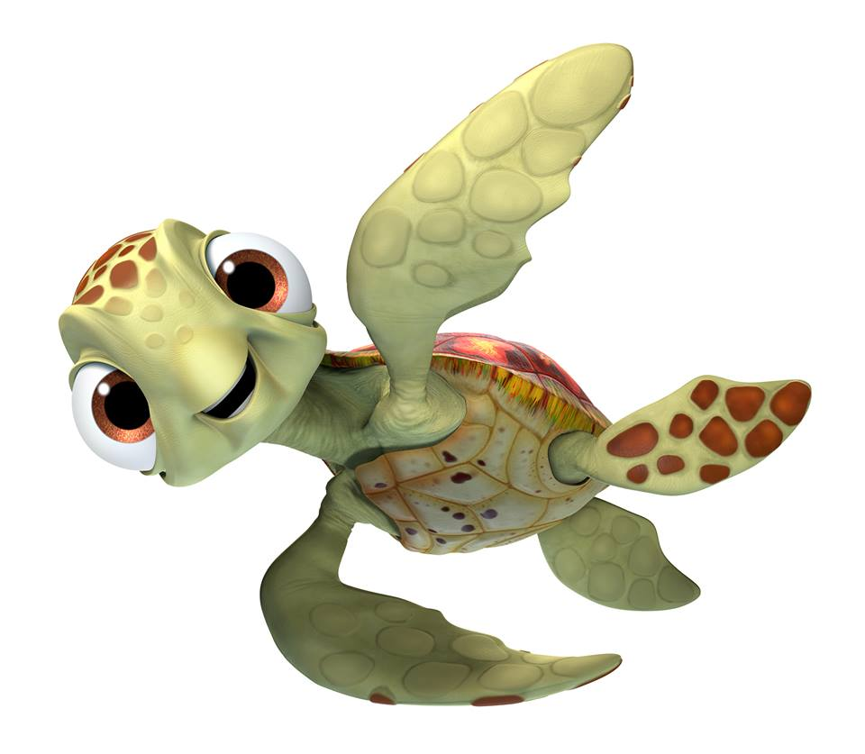 Sea Turtle Squirt from Finding Dory