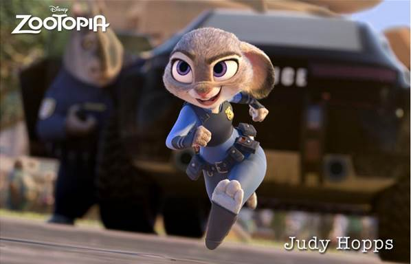 Adorable Judy Hopps from Disney's Zootopia!