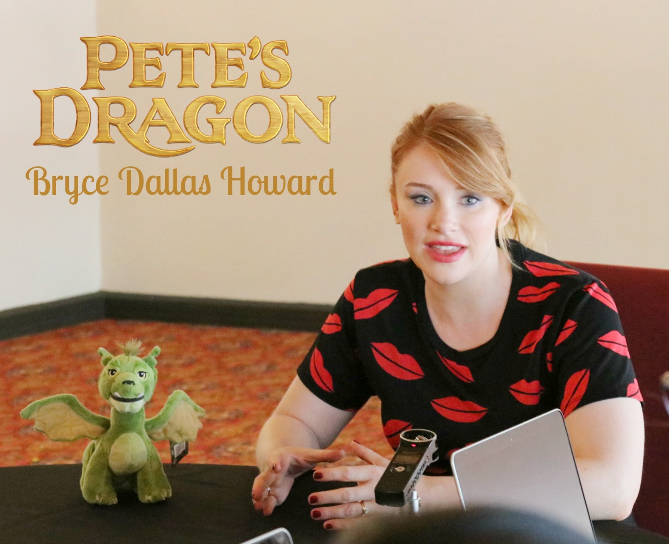 Pete's Dragon Bryce Dallas Howard talks family and her favorite Disney movie of all time!
