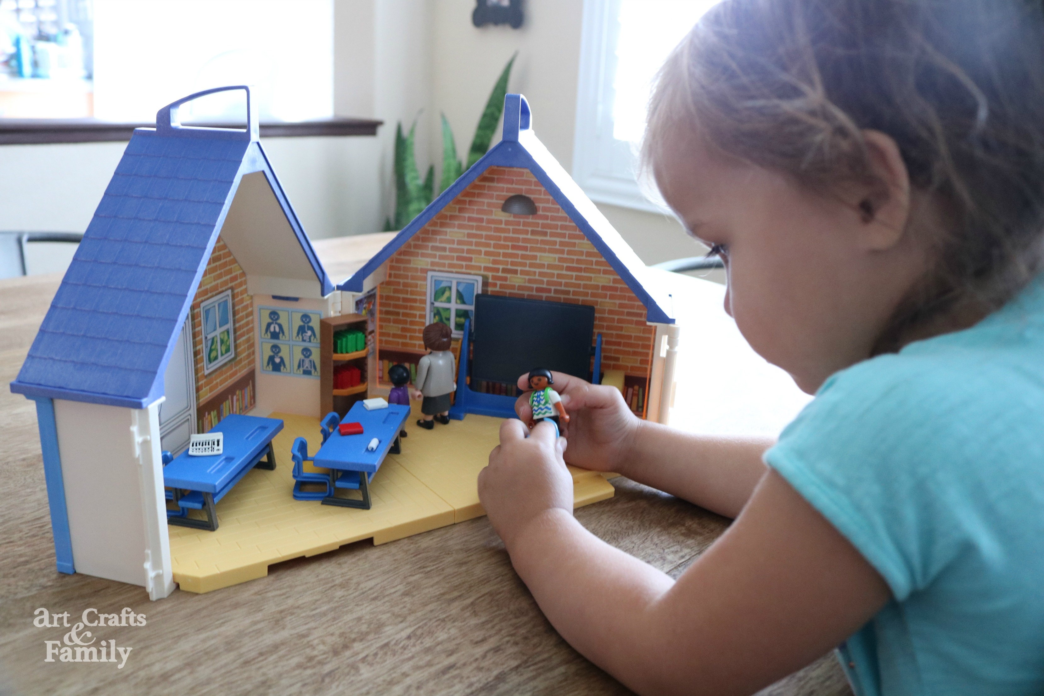 Playmobil School Bus and School House Play Sets Review