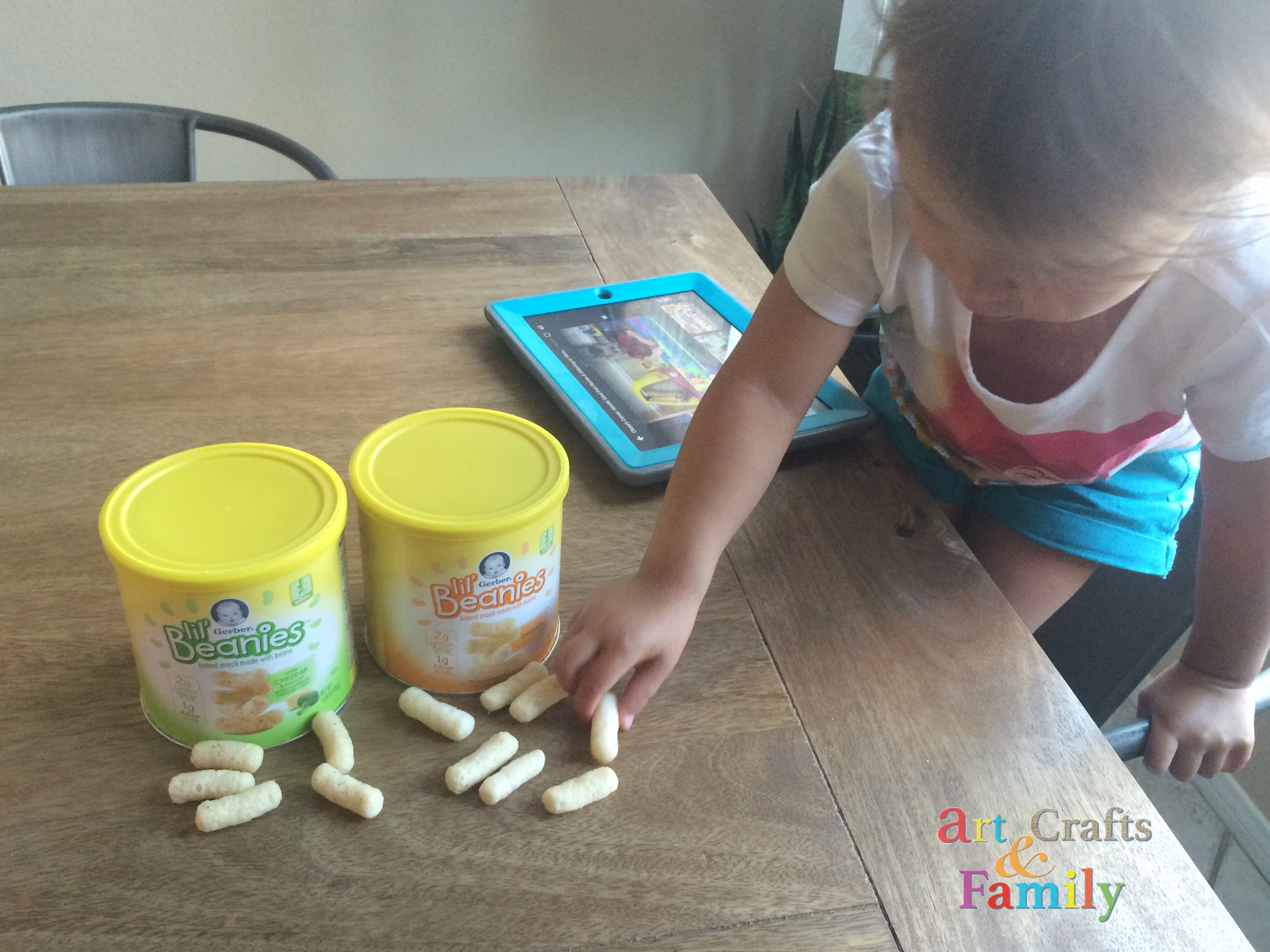 Healthier Alternative for Toddler Snack Time