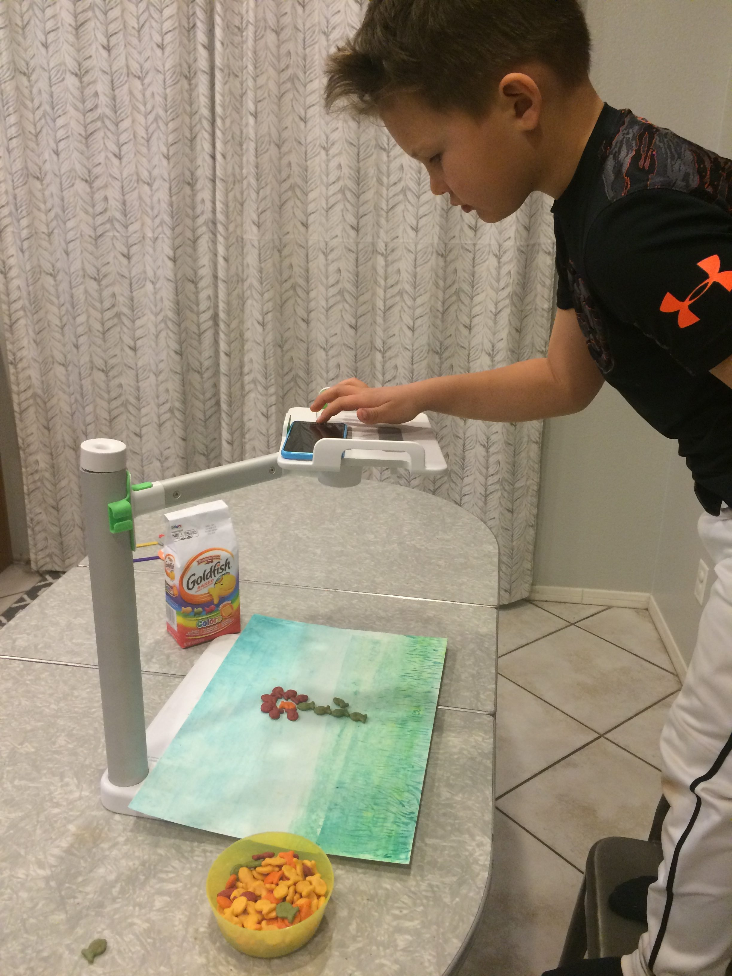 Learn how to create a stop motion animation with kids!