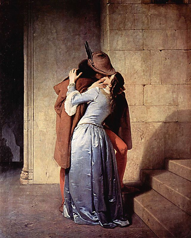 The Kiss, Francesco Hayez 1859