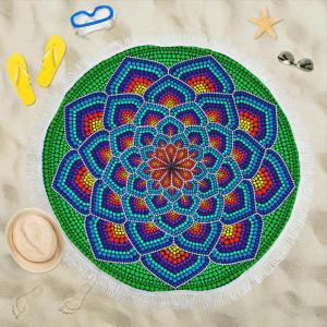 Круглый пляжный платок Hope 150cm x 150cm