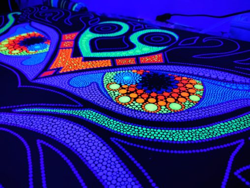 Magic Uv-Owls in progress 4