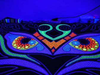 Magic Uv-Owls in progress 2