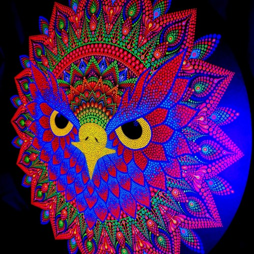 The-Majestic-Owl-UV-Dot-Painting-Side
