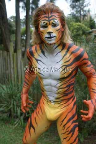 Artdemasque Body Painted Performers For Event Entertainment