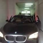 Doposażenie lampy LED BMW F01 LCI - model 2008
