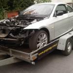 Odbudowa samochodu po kradzieży E92 LCI 320D 184 KM