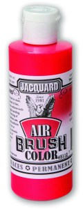 JAB2408_Fluorescent Red Airbrush 4oz