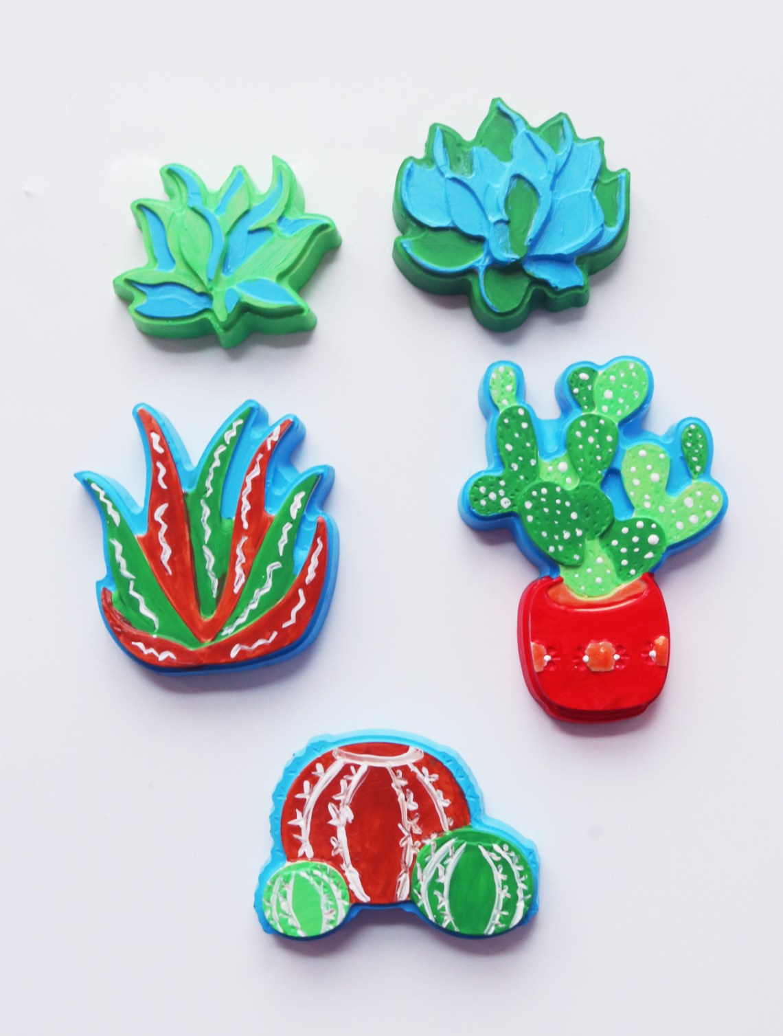 Plaster Succulent DIY Homemade Craft with Activa Products