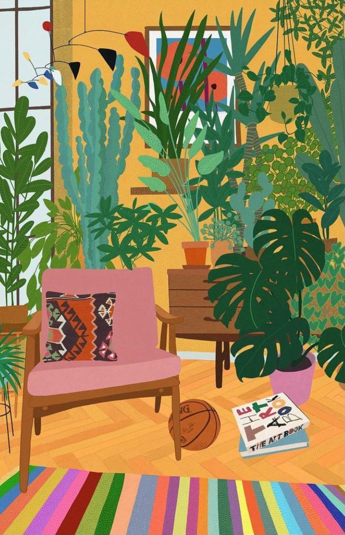 Living Room, Sanatçı @birolbayraminstagram
