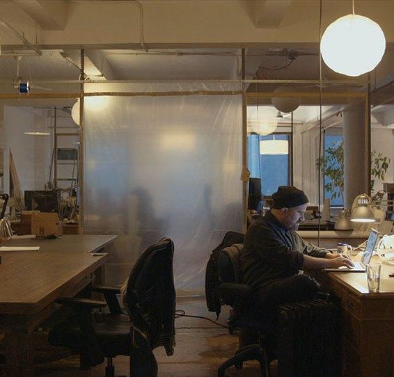 Zach Lieberman in Studio