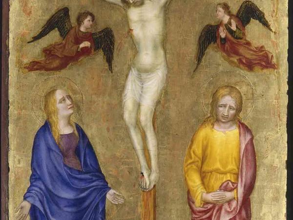Gentile da Fabriano, Crocifissione, Pinacoteca di Brera