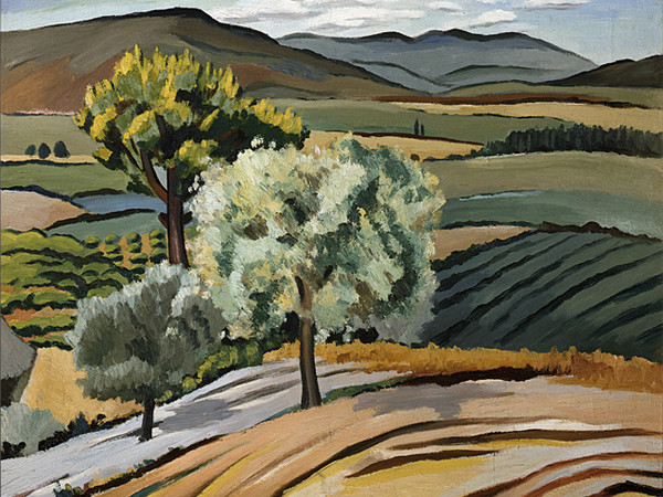Alberto Magnelli, Piano di Rosia, 1927, olio su tela,  Firenze, Galleria d'arte moderna di Palazzo Pitti