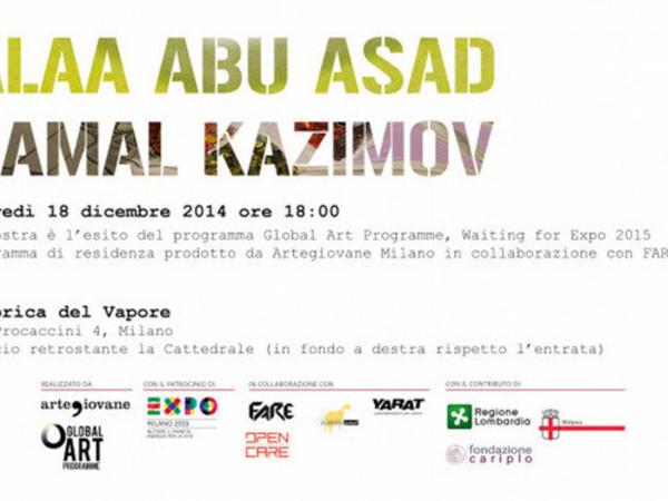 Alaa Abu Asad Ramal Kazimov, Fabbrica del Vapore, Milano