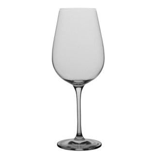 Dignity Bordeaux Glass 6 pieces. Volume: 680ml. Diameter: 6.7 cm. Height: 26cm. Brand: Flawless, China. Material: Semi-Crystal Glass