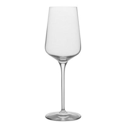 Spiegelau Hybrid White Wine Glass. Volume: 380ml. Height: 24cm. Diameter: 7.95cm. Brand: Spiegelau, Germany. Material: Crystal