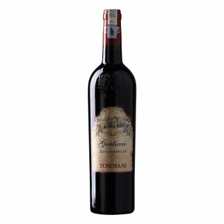 Tommasi Graticcio Rosso, Appassionato, red wine from Italy. Intense, deep ruby red color. The fragrance is very fruity and rich with cherry notes. The taste is medium body but very intense, spicy with smooth and full of flavors.