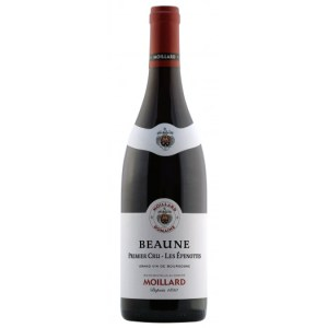 Moillard Beaune Premier Cru - Les Epenottes. A bright and lively red colour. Aromas of black fruits (blackcurrant, blackberry), red fruits ( cherry, gooseberry). Truffle, leather and spice with ageing. Rich, this wine offers a nice arotimatic power and a fleshy texture. It opens with ageing, showing a robust structure.