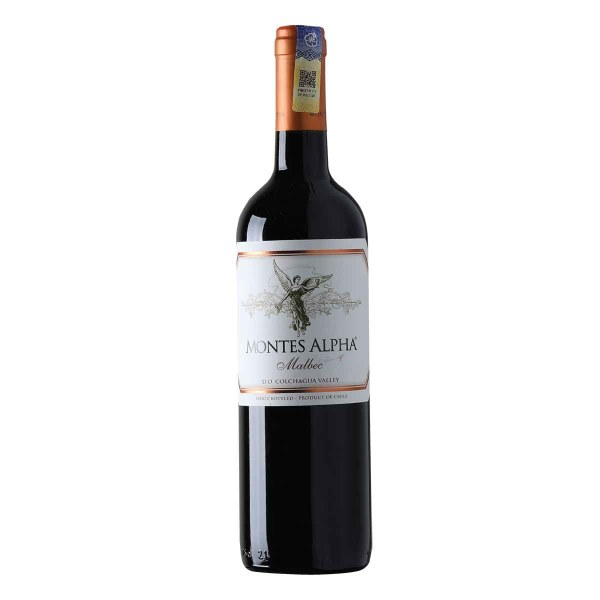 Montes Alpha Malbec from Chile.