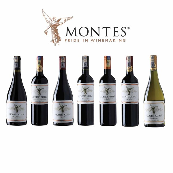 Montes Alpha Series from Chile