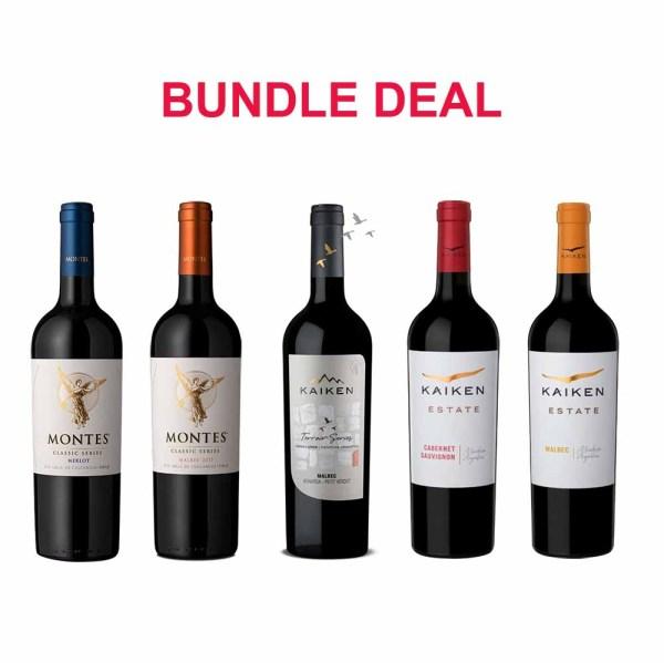 Montes Classic & Kaiken Wines Mix and Match Bundle
