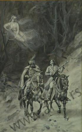 La veela Ravijojla se encuentra con el príncipe Marko y Milos.