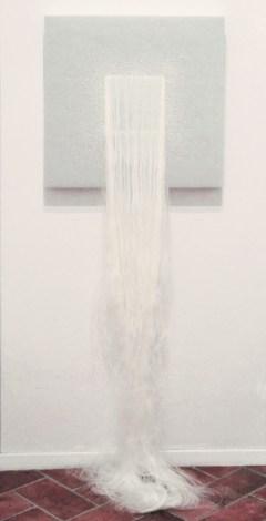 TOSELLI Manuela, Specchio delle mie brame, 2014, Seta e cotone, dimensioni variabili (cm 66x66)