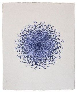 Carolina Corno, Nel mio nome, 2016, inchiostro su carta, cm 25x21