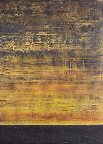 Horizons 16 Tuscania, 2017, cm 100x80x4, mista materica