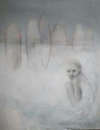 Il bianco, 2016, cm 140х110, olio su tela