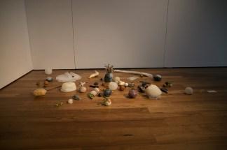 Elena Hamerski, Sterili Nature, 2017, frutti, semi, siliconi e poliuretano espanso, dimensioni variabili