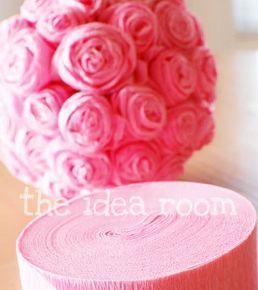 rosa de crepom 01