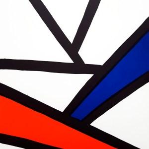 Calder Lithograph DM51173, Derriere le Miroir 1963
