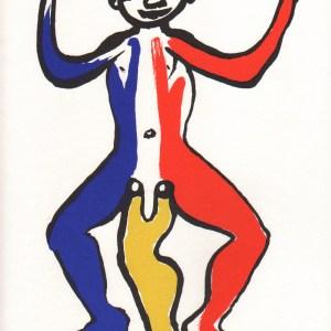 Calder, Original Lithograph, DM05212, Derriere le Miroir 1975