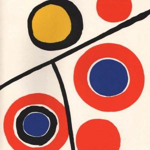 Alexander Calder Lithograph DM48201