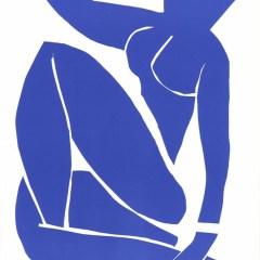 "Henri Matisse ""Nu bleu 3"" printed 1983"